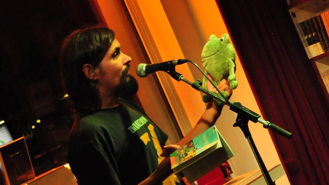 HC Roth mit Frosch